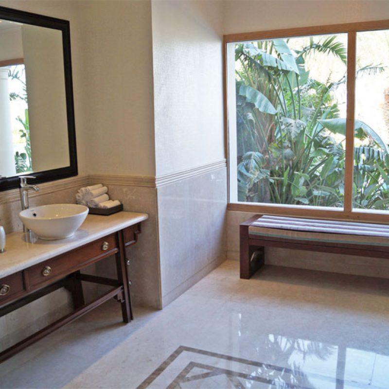 Marmorplatten auf Maß im Bad