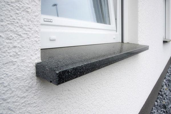 Naturstein-Fensterbänke; Schiefer-Fensterbänke für Innen- und Außenbereich